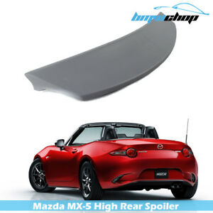 Mazda Mx 5 Miata Nd Coupe High Trunk Spoiler 2016 2018 Gx Club Unpainted
