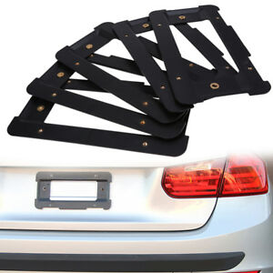 5 Pcs For Bmw E30 E46 E90 Rear License Plate Mount Tag Holder Bumper Bracket