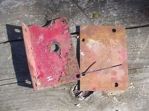 Farmall H Early Sh Tractor Battery Box Ih Mounting Bracket