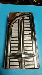 1963 Lincoln Continental Convertible Left Rear Trunk Trim Section