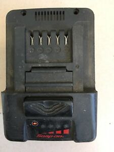 Snap On 18v Impact Gun Battery Ctb7185 Spares Or Repairs