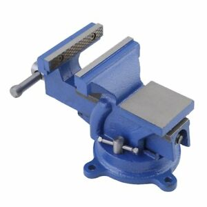6 Heavy Duty Work Bench Vice Engineer Jaw Swivel Base Workshop Vise Clamp 150mm