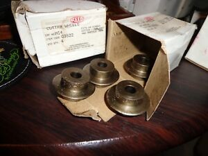 New Old Stock 8 Pc Berkley Reed 3522 Hi 4 Hinged Pipe Cutter Wheel