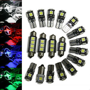 Vw Scirocco Interior Lights Package Kit 9 Led White Red Blue Pink 152133