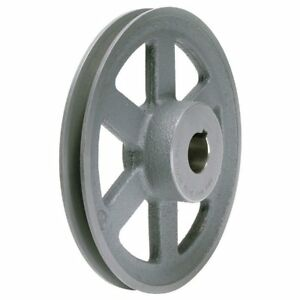 Leeson amec 15 25 34 X3 4 34 Single Groove Fixed Bore 34 a 34 Pulley