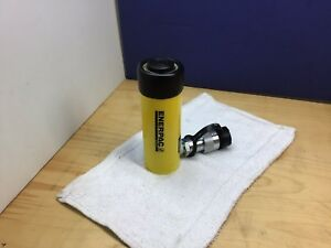 Enerpac Rc104 Hydraulic Cylinder 10 Tons 4 1 8in Stroke Nice Usa Made