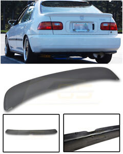 Ferio Style Primer Black Rear Lid Wing Spoiler For 92 95 Honda Civic Eg9 Sedan