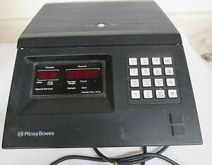 Pitney Bowes Model 5042 Metered Postal Scale__i Never Used It_help Yourself