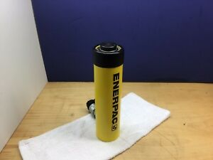Enerpac Rc156 Nice Hydraulic Cylinder 15 Tons 6in Stroke Made