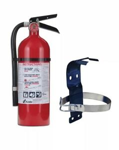 Kiddie Home Fire Extinguisher Mounting Bracket Kitchen Boat Car Garage Carport