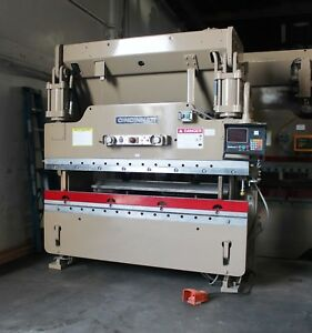 90 Ton X 8 Cincinnati Cnc Hydraulic Press Brake 2 Axis Cnc Metal Bender