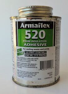 Armaflex 520 Foam Insulation Contact Adhesive 1 2 Pint Can Qty 3 Dented Cans