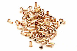 500x Best Quality Pcb Copper Via Vias Through Hole Rivets 5 Sizes 100pcs Each