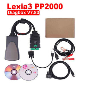 Lexia3 Pp2000 With Diagbox V7 83 For Citroen Peugeot Profession Diagnostic Tool
