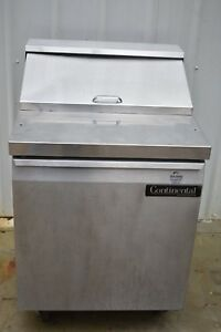 Continental Sw27 8 27 Refrigerated Prep Table