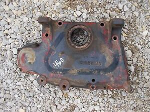 Farmall Ih 460 Tractor Engine Motor Main Front Mounting Bracket Ihc Cover Panel