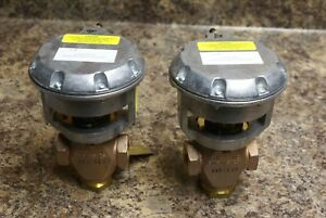 Johnson Controls Vg7842gt Control Valve With V 3008d0 Actuator Lot Of 2
