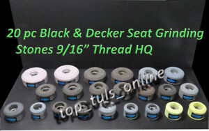20 X Valve Seat Grinding Wheels Black Decker General Purpose 9 16 X 16 Tpi