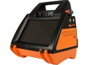 Gallagher S22 Solar Electric Fence Charger G344414 40 Acres 12 Mile