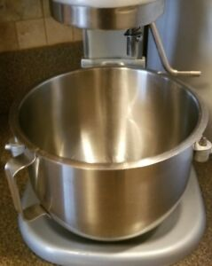 Hobart N50 5 Qt Nsf Commercial Stainless Steel Bowl N 50 5 Quart Mixer Sst005