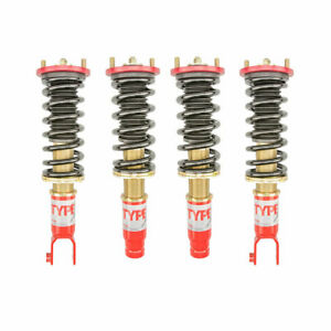 Function Form For 96 00 Honda Civic Ek Type 1 Height Adjustable Coilovers Kit