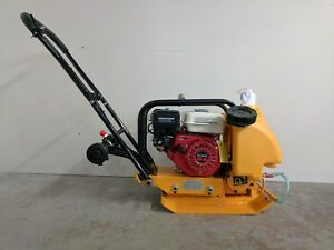 Hoc C60 14 Inch Plate Compactor Tamper Gx200 6 5 Hp Water Wheel Kit Warranty