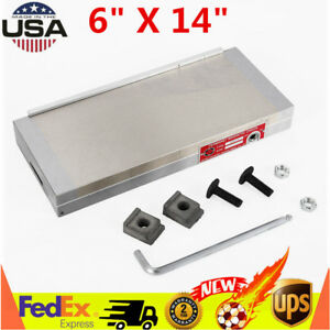 6 X 14 Magnetic Chuck Machining Workholding Permanent For Grinding Machine Usa