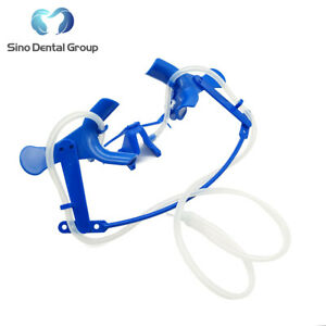 1 X Dental Nola Retractor Oral Dry Field System Lip Cheek Retractor Tongue Blue