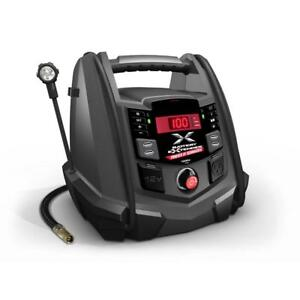 Battery Extender Jump Starter Air Compressor 12 Volt 1 200 Amp Schumacher Mobile