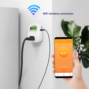 Inkbird Wifi Heating Thermostat Wireless Temperatuare Controller C929 App 1200w