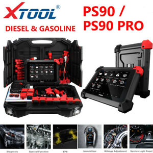 Xtool Ps90 Pro Heavy Duty Diagnostic Scan Tool Immobilizer mileage For Car