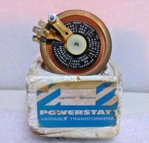 Powerstat Se f76412 Variable Transformer