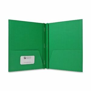 Sparco 2 pocket Folders With Fasteners 1 2 inch Capacity Letter 25 Per Box