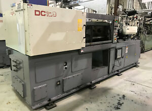 3 2002 2003 Nissei Dc120 Two color Injection Molding Machines