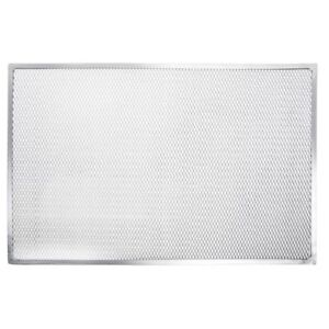 Hubert Pizza Screen Rectangular Aluminum Seamless Rim 24 l X 16 w