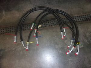 John Deere Loader Tractor Set Of 6 Hoses