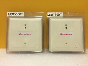 Honeywell Fire lite Mdf 300 lot Of 2 15 To 32 Vdc Monitor Modules New