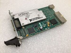 National Instruments Pxi 6284 M Series Multifunction Daq Device Card 191501 02l