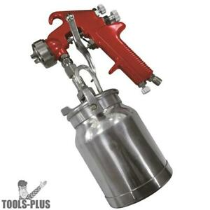 Astro Pneumatic 4008 Spray Gun With Cup Red Handle 1 8mm Nozzle New