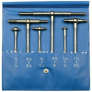 Pec Ftg 6 6 Pc 5 16 6 Telescoping Gage Set