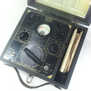 Vintage Dayrad Dayton Radio Co For Raytheon Radio Tube Tester Series 14 Working