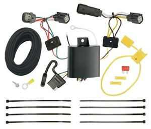 Trailer Wiring Harness Kit For 15 18 Ford Focus 5 Dr Hatchback Plug Play New