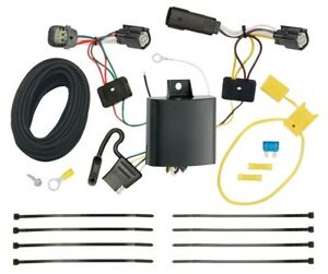 Trailer Wiring Harness Kit For 15 18 Ford Edge Titanium And Sport Models Only