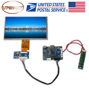 7 Inch 1024x600 Lcd Display Screen Tft Monitor With Hdmi Input Lcd Driver Board