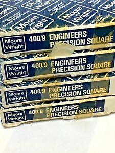 9 Precision Machinist Square By Moore Wright Sheffield England 400 9 225mm