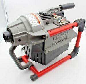 Ridgid Kollmann K 60sp Sectional Drain Cleaning Machine good Condition