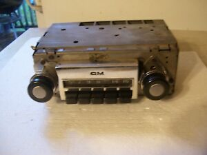 72 1972 Chevy Gmc Truck Radio Fits 67 68 69 70 71 Too Good Working