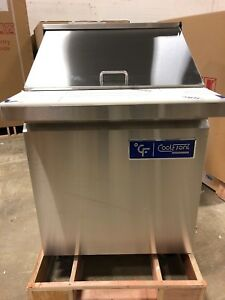 New Coolfront 27 1 One Door Mega Top Refrigerated Sandwich Prep Table New