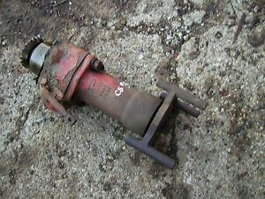 Cockshutt 30 Tractor Original Belt Pulley Drive Assembly Drive Gear