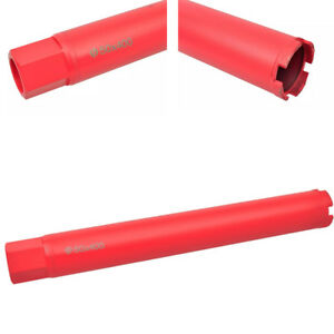 2 Dry wet Diamond Core Drill Bit Set For Concrete Masonry 1 1 4 Thread Red Us